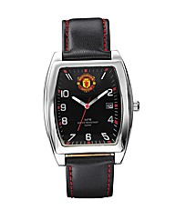 Gents Football Leather Strap Watch