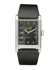 Gio-Goi Rectangular Case Strap Watch