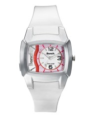 Bench Ladies White Strap Watch