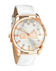 Gio-Goi White Strap Watch