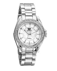 Ladies Glitzy Dial Bracelet Watch