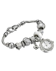 Ladies Charm Bracelet Watch