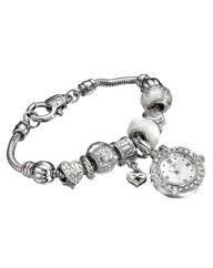 Ladies Charm Bracelet Watch