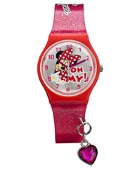Minnie Mouse Charm Watch