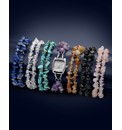 Interchangeable Gemstone Bracelet Watch