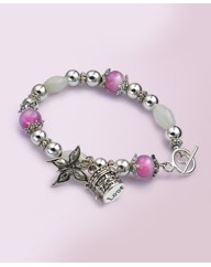 Butterfly Trinket Prayer Bracelet