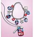 One Direction Necklace & Bracelet Set
