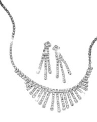 Waterfall Necklace & Earrings Set