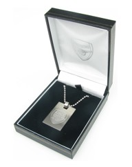Stainless Steel Football Club Pendant