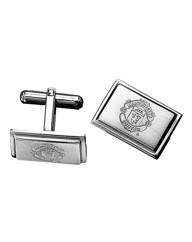 Stainless Steel Football Cufflinks