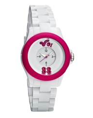 Voi Jeans White Plastic Ladies Watch