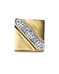 9 Carat Gold Diamond-Set Earring