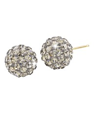 Evoke 9 Carat Gold Ball Stud Earrings