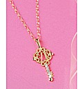 9 Carat Gold Key Shaped Age Pendant