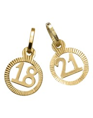 9 Carat Gold Special Age Charm