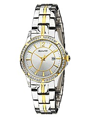 Accurist Ladies Two-tone Bracelet Watch