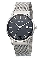 Accurist Gents Stainless Steel Watch