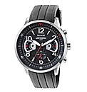 Accurist Gents Black Chronograph Watch