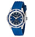 Accurist Gents Blue Strap Watch