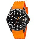 Accurist Gents Orange Strap Watch