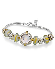 Accurist Ladies Shimmer Charm Watch