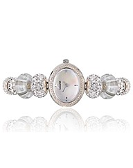 Accurist Ladies White Delight Watch