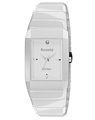 Accurist Ceramic Diamond Set White Watch