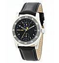 Voi Jeans Gents Black Strap Watch