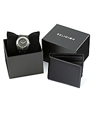 Religion Gents Watch & Wallet Giftset