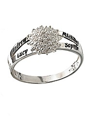 Precious Sentiments Personalised Ring