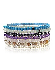 Chrysalis Small Gemstone Bead Bracelet