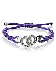 Cuffs of Love Cubic Zirconia Bracelet