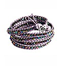 345 Wrap Purple Bracelet