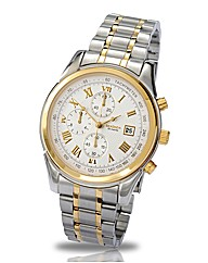 Sekonda Gents Chronograph Two-tone Watch