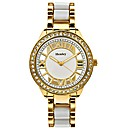 Ladies See-Through Dial Bracelet Watch
