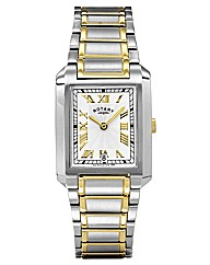 Rotary Gents Two-tone Bracelet Watch