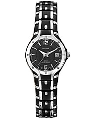 Pulsar Ladies Black Bracelet Watch