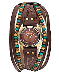 Kahuna Ladies Beaded Strap Watch