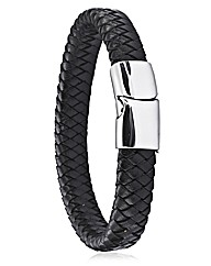 Gents Chunky Leather Bracelet