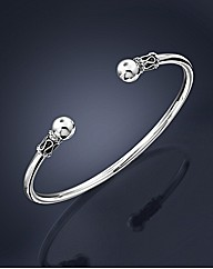 Sterling Silver 1/4oz Gents Bangle