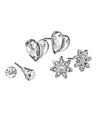 Ladies 3 Piece Earrings Set