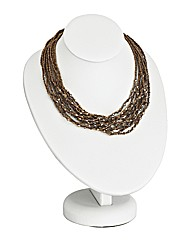 12 Strand Glamour Necklace