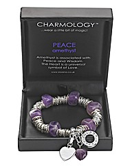 Charmology Gemstone Jumpring Bracelet