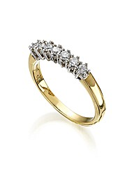 9ct Gold 1/3ct Diamond-Set Ring