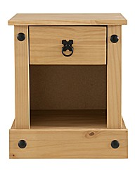 Maya Solid Pine Bedside Table