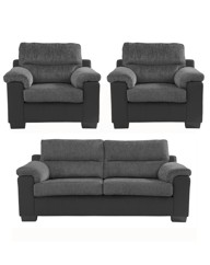 Manhattan Three Seater and Two Chairs