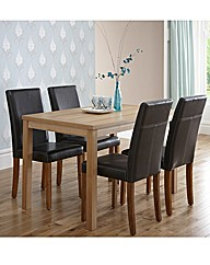 Oakdale Five Piece Dining Set