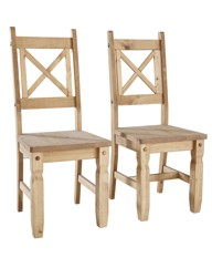 Monterrey Pack of Two Chairs