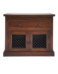 Sheesham Jali Two Door Sideboard