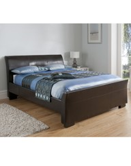 Pamplona Kingsize Bed and Basic Mattress